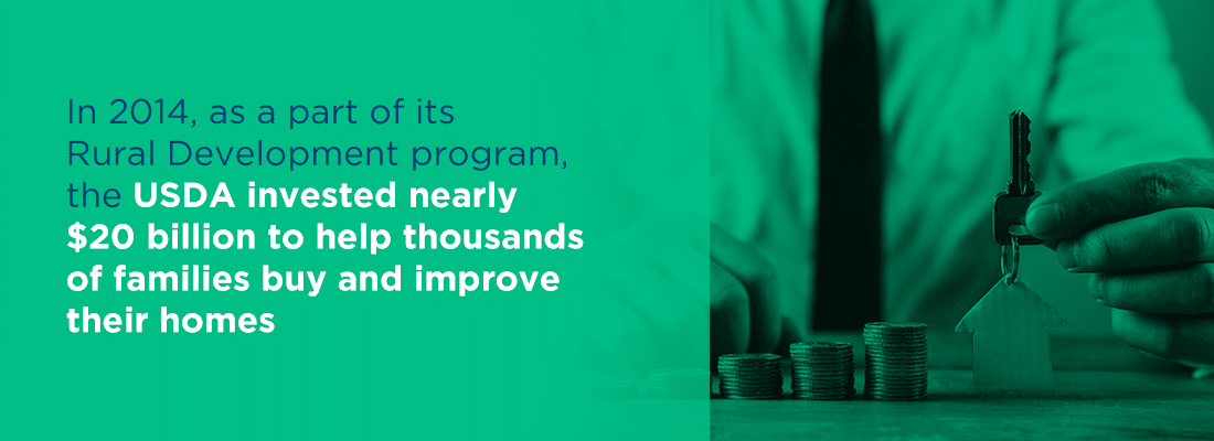 the usda invested nearly 20 billion to help thousands of families buy and improve homes in 2014