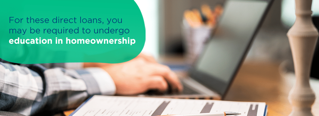 you may be required to undergo education in homeownership
