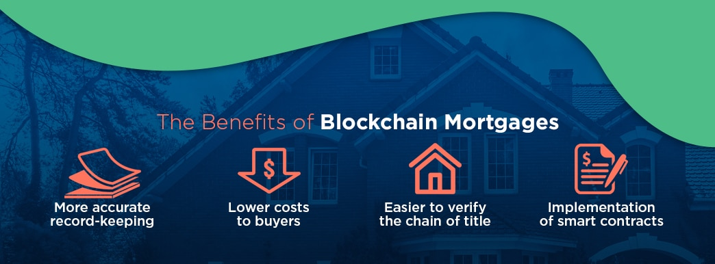 benefits of blockchain mortgages