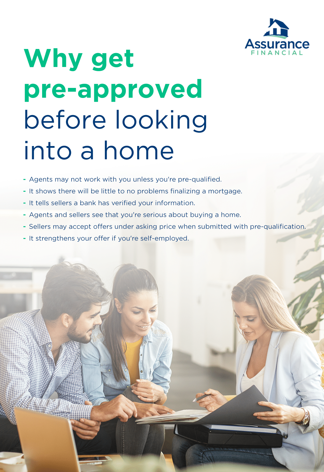 why get pre-approved before looking into a home