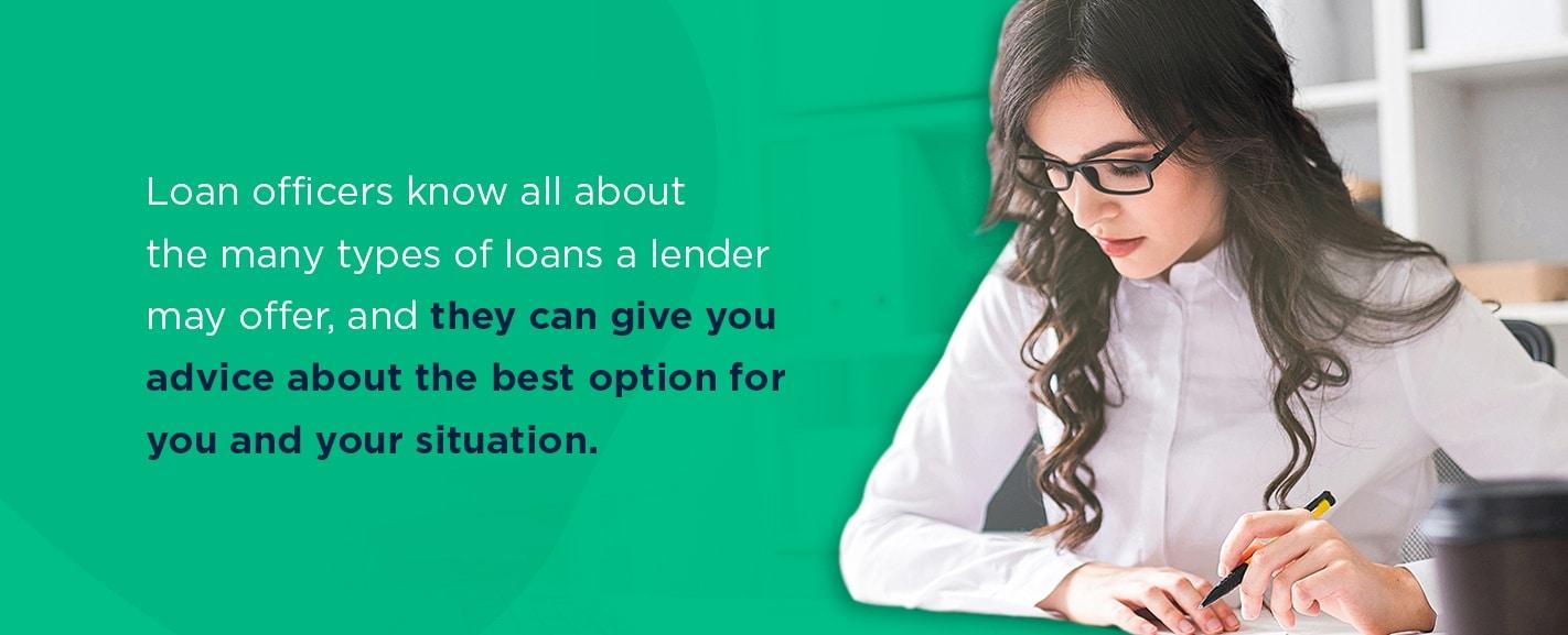 Duties of a loan officer