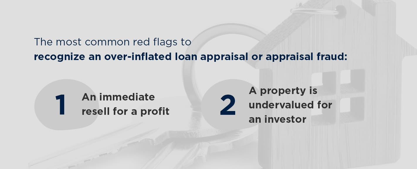 How to recognize an over inflated loan appraisal