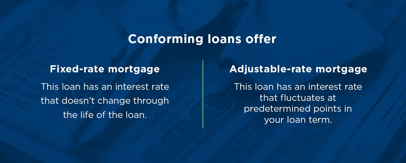 What conforming loans offer