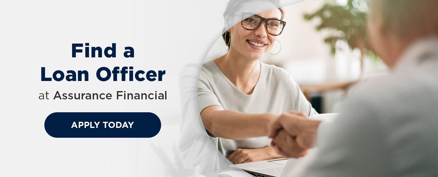 Find a loan officer at assurance financial CTA