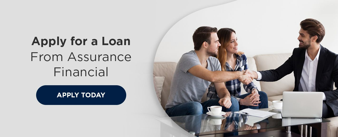 Apply for a loan with assurance financial CTA