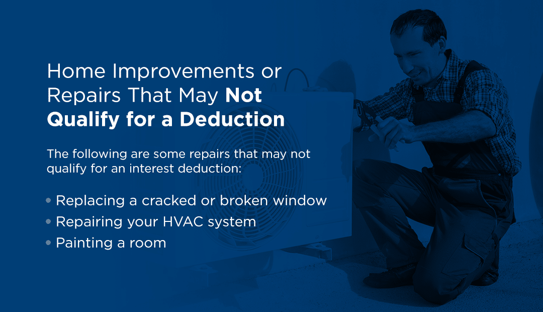 Home-Improvements-or-Repairs-That-May-Not-Qualify-for-Deduction