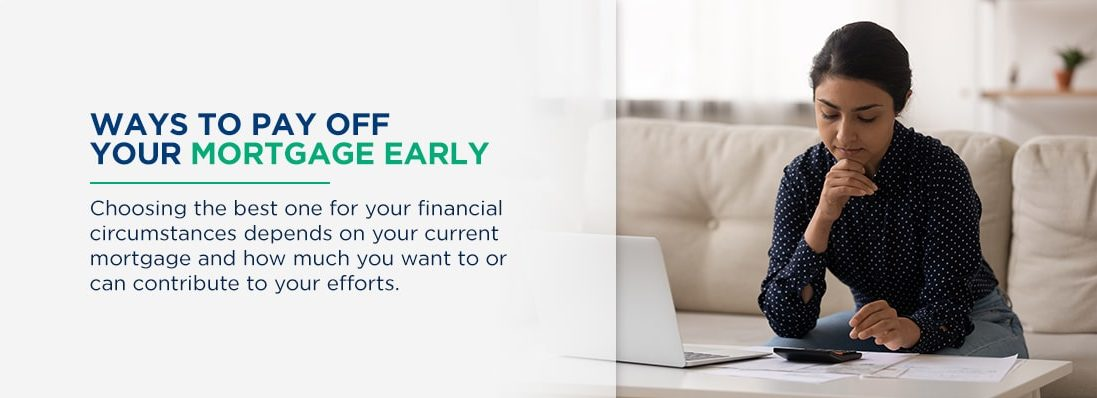 Graphic: Ways to pay off your mortgage early.